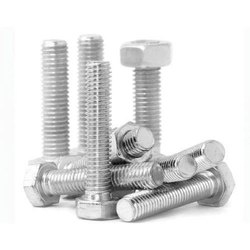 Silver Full Thread Alloy 20 Hex Bolt for Industrial
