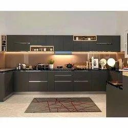 Wooden Matrix Kitchen