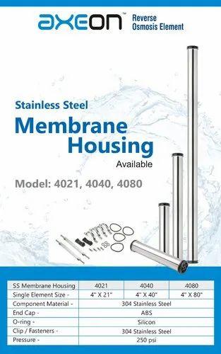 Stainless Steel Housing- Model 4021/ 4040/ 4080
