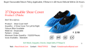 Disposable Shoe Cover - Leg Cover - Kinkob