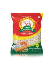 Swastik shree kamadhenu urad dal White Urad Whole, High in Protein, Packaging Type: Packets