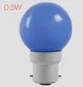 Adore Led 0.5 W Coloured B22 Blue Bulb