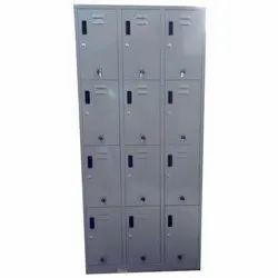12 Compartment SS Staff Locker