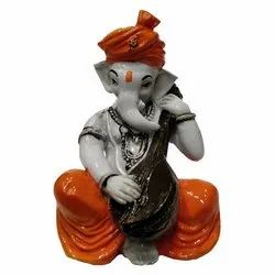 Fiber Trendy Ganeshji Statues, Packaging Type: Box, Size: 13cm X 9.5cm X 7cm