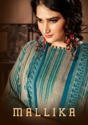 TM Mallika A Beautiful Printed Designer Suits Summer Catalog Collection