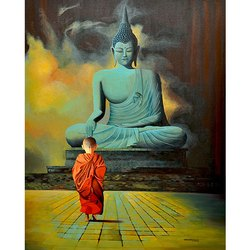 Buddha Canvas Paintings