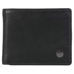 Woodland W 539004 Black Men's Leather Wallet