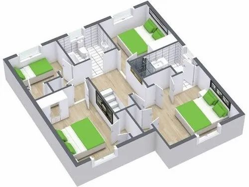 Civil Engineer Work Dahod Manufacturer Of House Planning And Design And 3d Designing Services