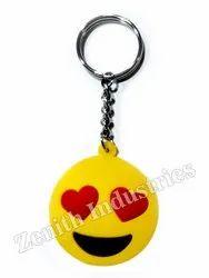 Emoji PVC Keychain