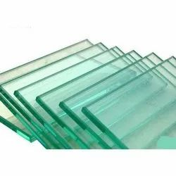 Transparent 10mm Saint Gobain Laminated Toughened Glass