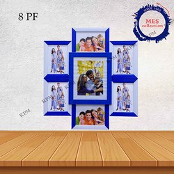 Wooden Brown Collage Photo Frame, For Home