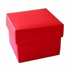 Single Wall - 3 Ply Square Cardboard Laminated Box, for Gift & Crafts, Box Capacity: 1-2 Kg