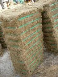 Coir Fiber Brown, 7 To 25 Cm, Packaging Size: 110kg Bale