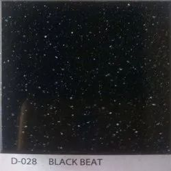 Black Beat Acrylic Solid Surface