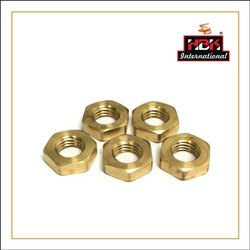 Hbk Hexagonal Brass Half Nut, For Industrial