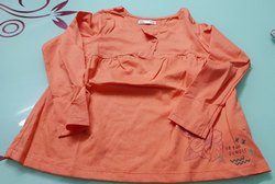 Girls Hosiery Orange Top