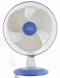 White And Blue Thunder Storm Table Fan