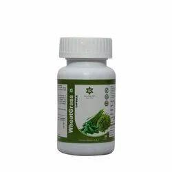 Gd Boost Energy Wheatgrass powder Capsule, For Oral, Grade Standard: Food Grade