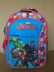 Red /Mix Priority Kids School Bag