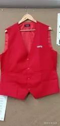 Party Red Waistcoat, Packaging Type: Poly Pack