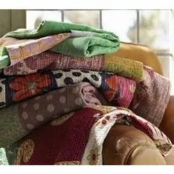 Reversible Bengali throw Quilt