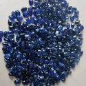 Polished Blue Sapphire Gemstone