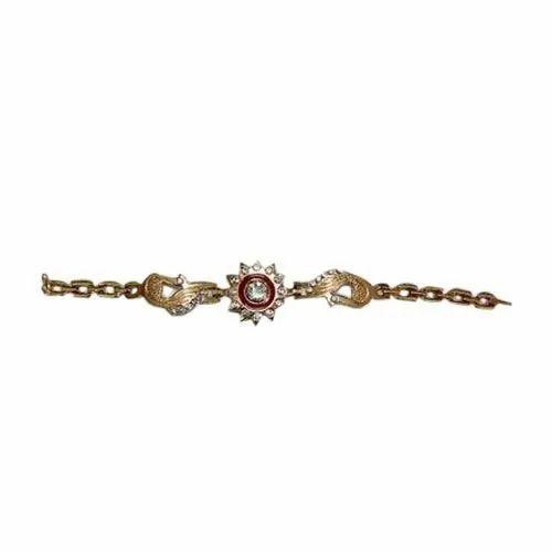 03bc674422a0e Fancy Designer Golden Zinc Bracelet