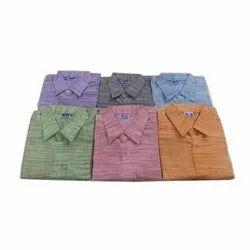 Designer Full Sleeve Khadi Shirts
