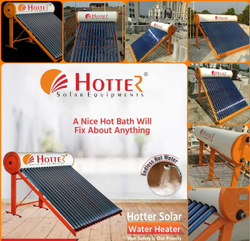 Hotter ETC Solar Water Heater