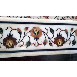 Stone Inlay Border Tile