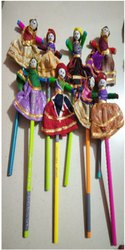 Wood Puppet Pencil, For Events
