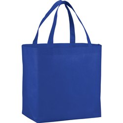 Blue Loop Handle Carry Bag