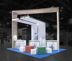 Corner Exhibition Stands Yard : Exhibition booth at best price in india