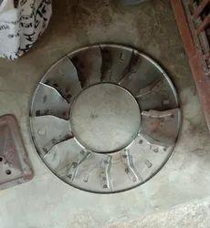 Silver Fan Wheel