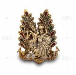wedding Golden Plated Radha Krishna