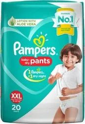 Pampers Baby Pant Diapers Xxl-20 (Mrp 499)