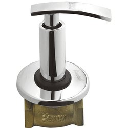 Chrome Plated 25mm Brass Flush Valve