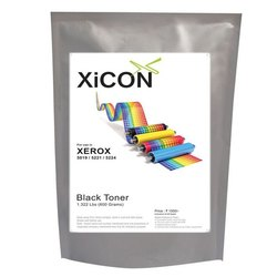 Xicon Xerox 5019 5221 5224 Black Single Toner for Xerox 5019 5221 5224 - 600g