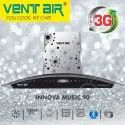 INNOVA MUSIC 90 Ventair Kitchen Chimney