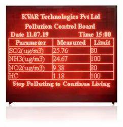 Air Monitoring Display
