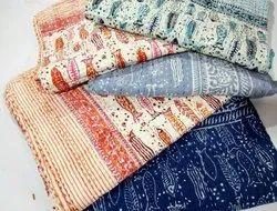 Hand Block Printed Bedspread