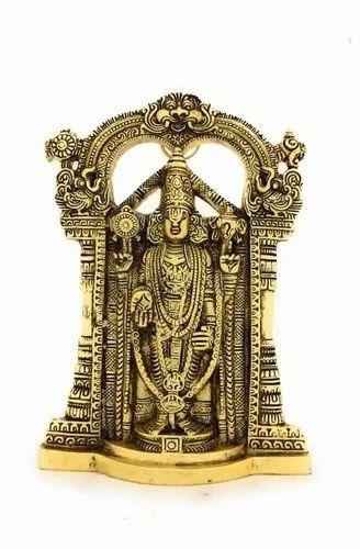 Golden Plated Tirupati Balaji