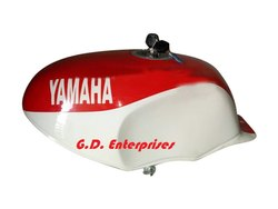 Yamaha YSR 50 80 YSR50 YsR80 1989 Steel Tank White & Red Painted with Cap & Tap