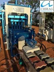 Chirag Modern Hollow Brick Manufacturing Machine