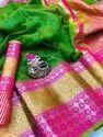 Pure Silk Kota Saree with Blouse Piece