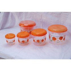 Vipin Plastic Ware Round Household Plastic Containers for Kitchen