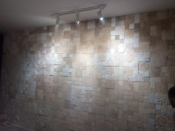 Stone creative wall mosaic, Thickness: 10 - 12 mm