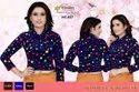 Multicolor Casual Ladies Winter Woolen Designer Blouse, Size: 38