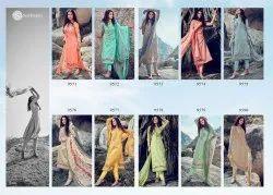 Sadhana Unstitched Ladies Suits Cotton Fabrics