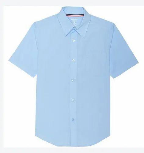 Light Blue School Shirt